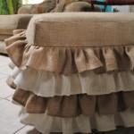 обивка мебели мешковиной (2)