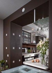 интерьер кухни кв м