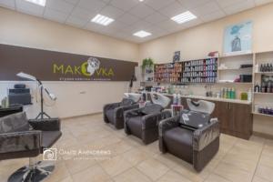 интерьер салонов красоты парикмахерских
