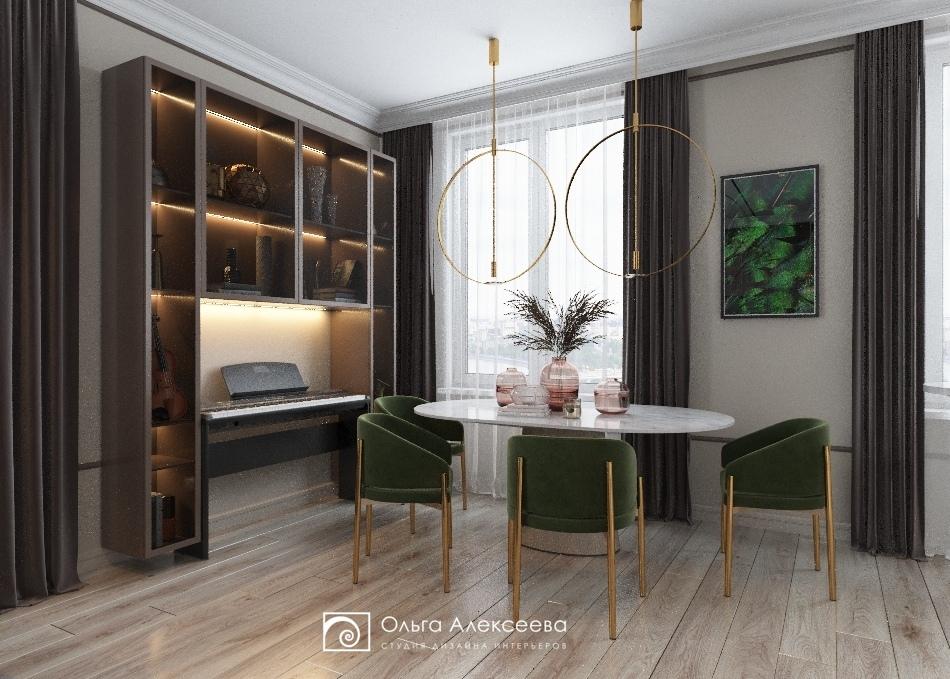 Дизайн проект сталинской квартиры