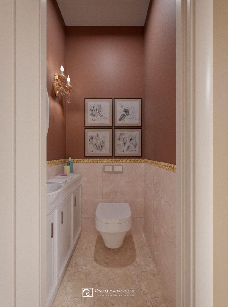 Туалет дизайн фото