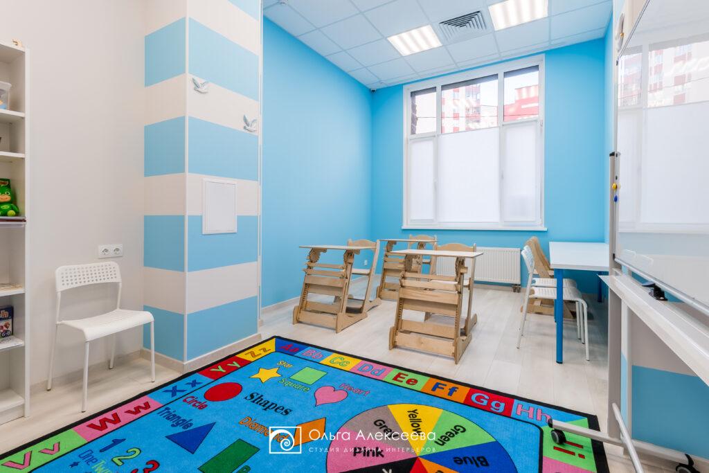 Интерьер дошкольного учреждения