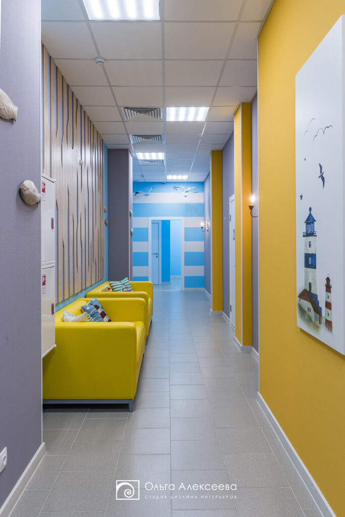 Дизайн детского учебного центра