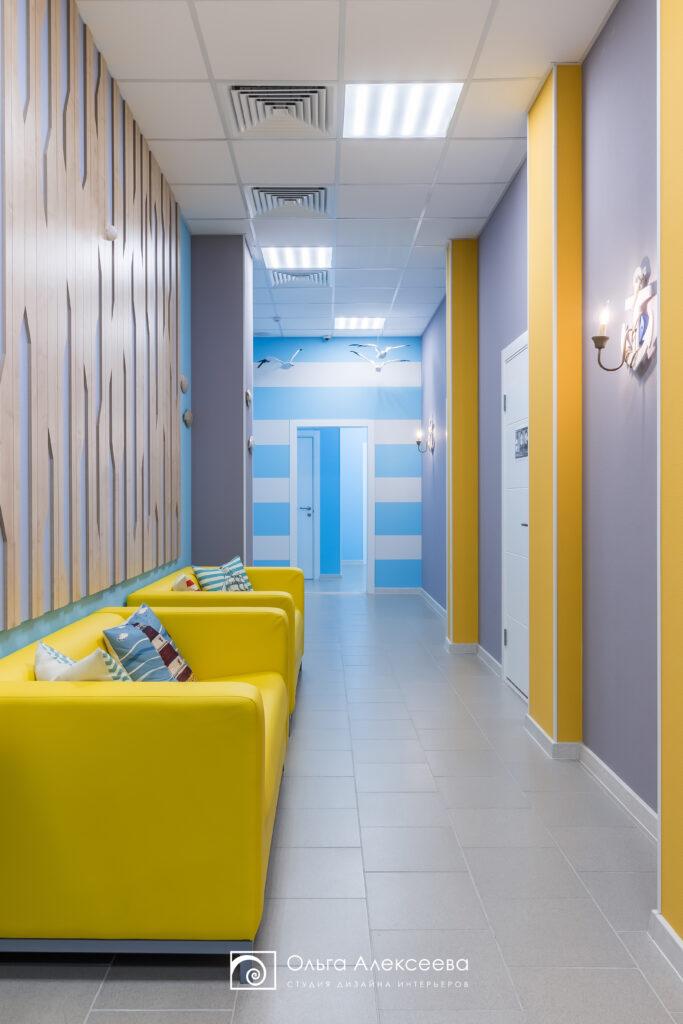 Дизайн интерьера детских центров