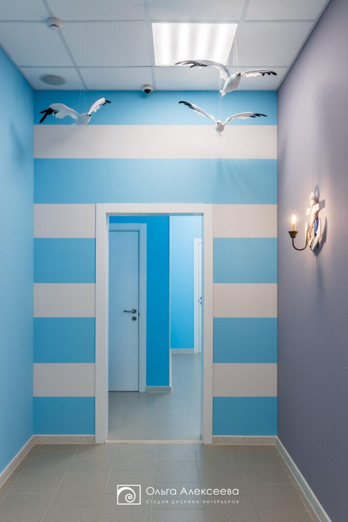 Дизайн интерьера детского центра развития