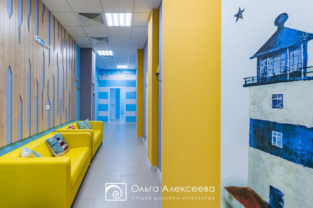 Дизайн проект детского центра